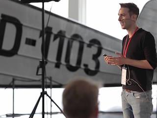 Startup mit Öko Gourmet Fastfood: Torben Götz